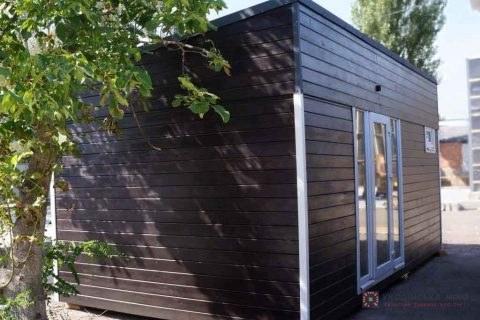 Модульный домик М18 фото1